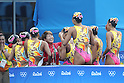 Japan team group (JPN), <br /> AUGUST 19, 2016 - Synchronized Swimming : <br /> Teams Free Routine Final <br /> at Maria Lenk Aquatic Centre <br /> during the Rio 2016 Olympic Games in Rio de Janeiro, Brazil. <br /> (Photo by Koji Aoki/AFLO SPORT)