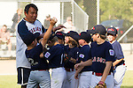 Los Altos Little League AAA championship game between the Rockies and the Red Sox, June 10, 2011 at Purissima Field #1.  Red Sox win 13-6..