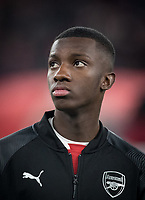 Eddie Nketiah of Arsenal during the UEFA Europa League match between Arsenal and Qarabag FK at the Emirates Stadium, London, England on 13 December 2018. Photo by Andy Rowland.