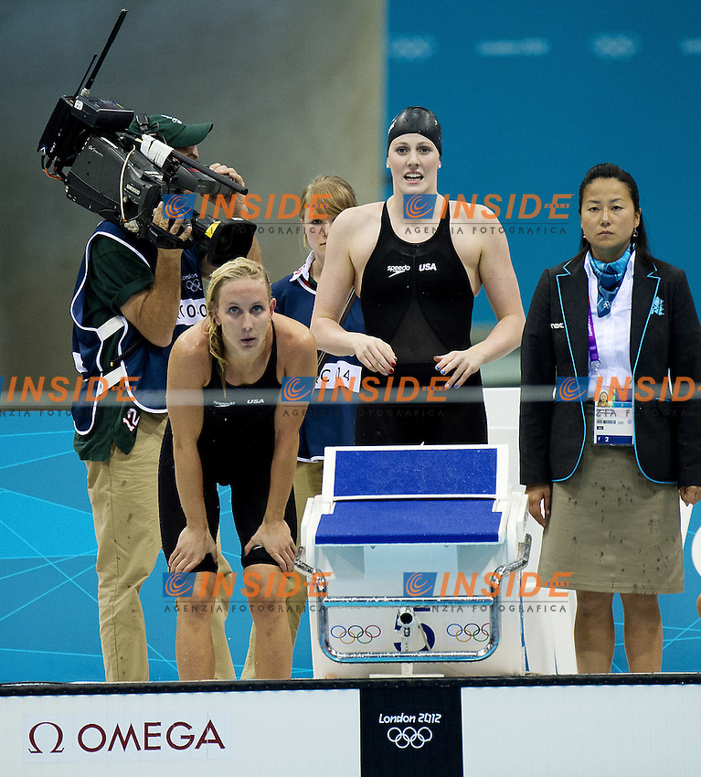 USA  team.4x100 freestyle women.Swimming finals.London 2012 Olympics - Olimpiadi Londra 2012.day 02 July 28.Photo G.Scala/Deepbluemedia.eu/Insidefoto