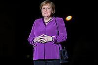 Angela Merkel ( Chanceliere Allemande )<br /> Parigi 10-11-2018 <br /> Museo d'Orsay Cena Ufficiale Capi di Stato <br /> Commemorazione 100 anni dalla fine della Grande Guerra, Prima Guerra Mondiale <br /> Foto Gwendoline LeGoff/Panoramic / Insidefoto