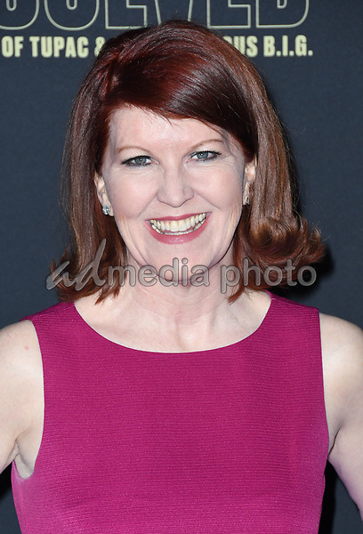 """22 February 2018 - Hollywood, California - Kate Flannery. USA Network's """"Unsolved: The Murders of Tupac & The Notorious B.I.G."""" held at Avalon Hollywood. Photo Credit: Birdie Thompson/AdMedia"""