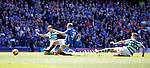 12.05.2019 Rangers v Celtic: Scott Arfield scores for Rangers