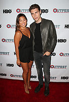 "11 July 2017 - West Hollywood, California - Jenna Ushkowitz, Nolan Gerard Funk. ""Hello Again"" 2017 Outfest Los Angeles LGBT Film Festival Screening. Photo Credit: F. Sadou/AdMedia"