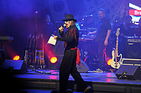 LONDON, ENGLAND - NOVEMBER 5: Arthur Brown performing with 'Hawkwind' at The Palladium on November 5, 2018 in London, England.<br /> CAP/MAR<br /> &copy;MAR/Capital Pictures