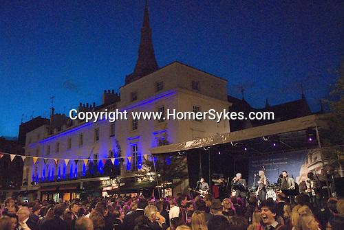 Elizabeth Street summer Street Party Chelsea and Kensington Belgravia London SW1