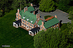 Aerial view of Sothebys home for sale at 237 Bohemia Manor Farm Lane, Chesapeake Maryland