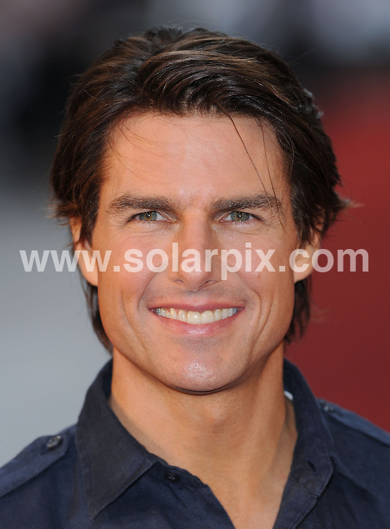 **ALL ROUND PICTURES FROM SOLARPIX.COM**.**WORLDWIDE SYNDICATION RIGHTS**.UK Premiere of Knight and Day.  Held at the Odeon, Leicester Square, London.This pic:     Tom Cruise .JOB REF:    11740   SSD     DATE:     22.07.10.**MUST CREDIT SOLARPIX.COM OR DOUBLE FEE WILL BE CHARGED**.**MUST NOTIFY SOLARPIX OF ONLINE USAGE**.**CALL US ON: +34 952 811 768 or LOW RATE FROM UK 0844 617 7637**
