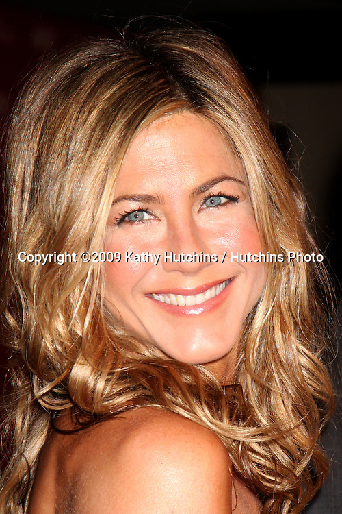 Jennifer Aniston arriving at the Women in Film Annual Crystal & Lucy Awards at the Century Plaza Hotel in Century City , CA on June 12, 2009.  .©2009 Kathy Hutchins / Hutchins Photo.