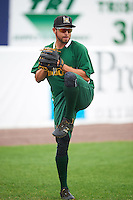 Lynchburg Hillcats pitcher Antonio Romero (30) during practice before a game against the Wilmington Blue Rocks on June 3, 2016 at Judy Johnson Field at Daniel S. Frawley Stadium in Wilmington, Delaware.  Lynchburg defeated Wilmington 16-11 in ten innings.  (Mike Janes/Four Seam Images)