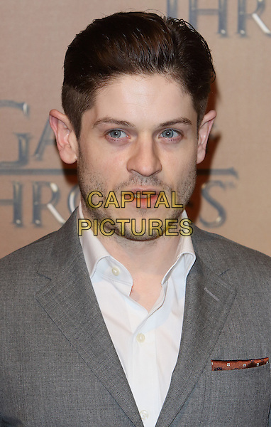 LONDON, ENGLAND - MARCH 18: Iwan Rheon arrives for the world premiere of Game of Thrones Season 5 at Tower of London on March 18, 2015 in London, England<br /> CAP/ROS<br /> &copy; Steve Ross/Capital Pictures