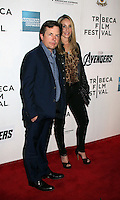 April 28, 2012 Michael J. Fox, Tracy Pollan attends the Closing  Night of the 2012 Tribeca Film Festival with Marvel' the Avengers at BMCC Tribeca Pac in New York City..Credit:RWMediapunchinc.com
