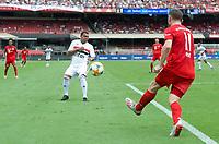 São Paulo (SP), 15/12/2019 - Futebol-Legendscup - Ólic e Leandro Guerreiro do São Paulo. Partida entre as lendas de São Paulo e Bayern no estádio do Morumbi, em São Paulo (SP), domingo (15).