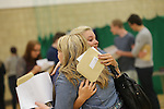 A Levels results day 2013<br /> Coleg Gwent Cross Keys College.<br /> Abigail Crandon celebrates after getting the results she needed in her A Levels.<br /> 15.08.13<br /> <br /> &copy;Steve Pope-Fotowales