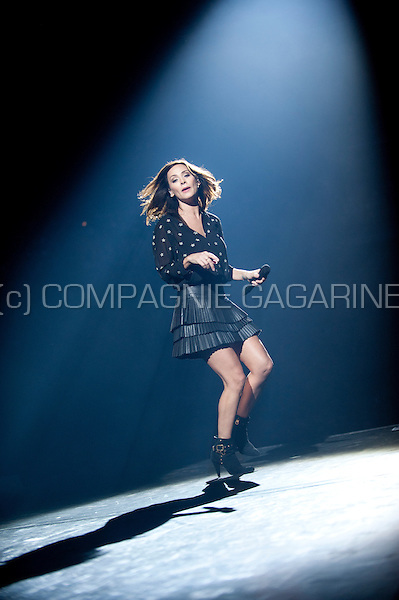 Australian singer Natalie Imbruglia performing at the Night Of The Proms, in Antwerp (Belgium, 14/11/2015)