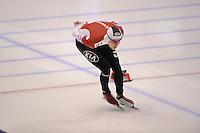 SCHAATSEN: HEERENVEEN: IJsstadion Thialf, 11-01-2013, Seizoen 2012-2013, Essent ISU EK allround, 5000m Men, Stefan Due Schmidt (DEN), ©foto Martin de Jong