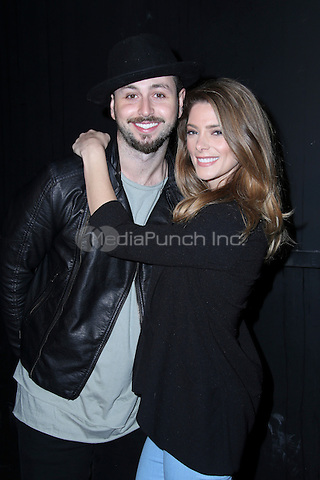 LOS ANGELES, CA - MAY 10: Ashley Greene, Paul Khoury arrives at the '6 Bullets To Hell' Mobile Game Launch Party on May 10, 2016 in Los Angeles, California. Credit: Parisa/MediaPunch.