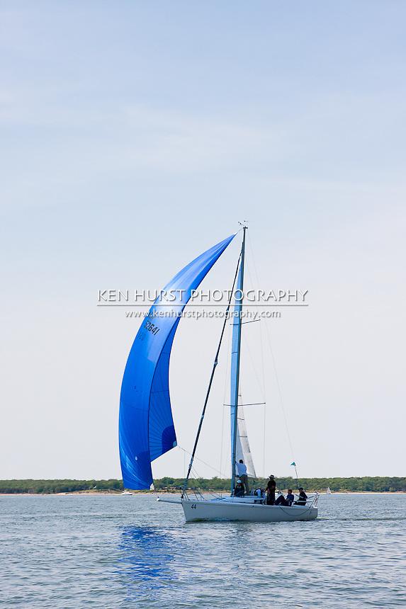 TBD, a J/92s, racing at Texoma Sailing Club Lakefest Regatta 2011, 25th annual charity regatta at Lake Texoma, Denison, Texas.