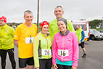 Kelly Teehan, Marguerite Griffin, Mark Bullman and Tim Buckley enjoying the Puck Warriors Duathlon 5km run 15km cycle 5km run started at JP O Sullivan Park, Killorglin on Saturday