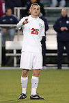 11 December 2009: Virginia's Will Bates. The University of Virginia Cavaliers defeated the Wake Forest University Demon Deacons 2-1 after overtime at WakeMed Soccer Stadium in Cary, North Carolina in an NCAA Division I Men's College Cup Semifinal game.