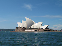SYDNEY--Opera House & Sydney Bridge