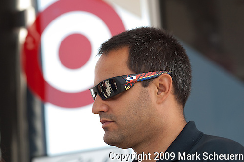 June 14 2009: Sprint Cup driver Juan Pablo Montoya at the LifeLock 400 at Michigan International Speedway in Brooklyn, MIchigan.