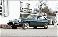 BNPS.co.uk (01202 558833)<br /> Pic: Bonhams/BNPS<br /> <br /> 1970 Jaguar E-Type 4.2 estimated at &pound;34,000.<br /> <br /> If barn finds are the holy grail for car collectors then this selection of 12 vintage motors worth &pound;2million found languishing in a Swiss schloss is something else. <br /> <br /> The stunning collection, which boasts an iconic 1921 Rolls-Royce Silver Ghost, was started by a wealthy car enthusiast in the 1950s but since his death has remained largely untouched. <br /> <br /> However, the original owner's son recently rediscovered his father's haul and will now offer it at auction.