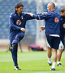 Paul Hartley and Kenny Miller