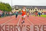 Ciarán O'Sulllivan (Sneem) won the boys 200m heats at the Kerry Community Games finals at Castleisland on Saturday.