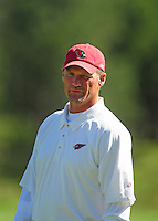Jul 30, 2008; Flagstaff, AZ, USA; Arizona Cardinals head coach Ken Whisenhunt during training camp on the campus of Northern Arizona University. Mandatory Credit: Mark J. Rebilas-