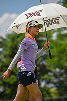 Lydia Ko (NZL) heads down 3 during round 3 of the 2018 KPMG Women's PGA Championship, Kemper Lakes Golf Club, at Kildeer, Illinois, USA. 6/30/2018.<br /> Picture: Golffile | Ken Murray<br /> <br /> All photo usage must carry mandatory copyright credit (&copy; Golffile | Ken Murray)