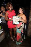 Kelly Linton and Angelina Favuzza attend Inked Magazine release party celebrating August issue, New York. July 17, 2012 © Diego Corredor/MediaPunch Inc.