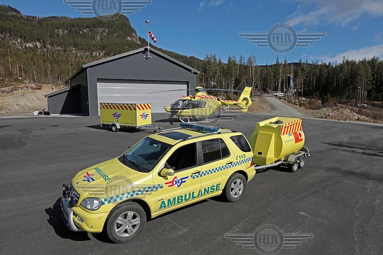 Norwegian Air Ambulance mobile units.