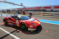 #51 LUZICH RACING (CHE) FERRARI F488 GTE LMGTE ALESSANDRO PIER GUIDI (ITA) NICKLAS NIELSEN (DNK) FABIEN LAVERGNE (FRA)