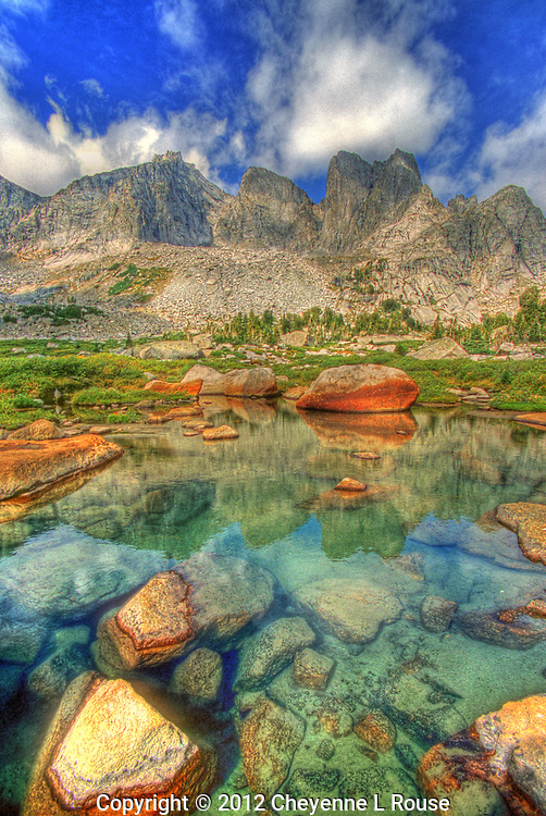 Cirque of the Towers - Wyoming - Wind River Mountain Range