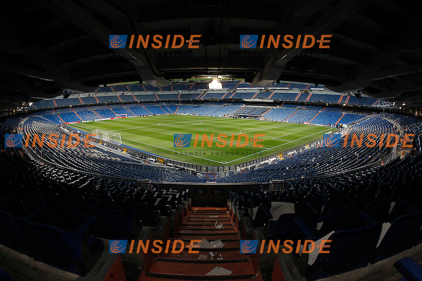Real Madrid's stadium Santiago Bernabeu after Champions League 2016/2017 Round of 16 1st leg match. February 15,2017. (ALTERPHOTOS/Acero)<br /> Champions League 2016/2017<br /> Foto Alterphotos / Insidefoto <br /> ITALY ONLY