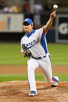 17 March 2009: #51 Hyun Soo Kim of Korea pitches against Japan during the 2009 World Baseball Classic Pool 1 game 4 at Petco Park in San Diego, California, USA. Korea wins 4-1 over Japan.
