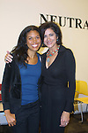 Guiding Light's Karla Mosley & Saundra Santiago and now OlTL at the 9th Annual Rock Show for Charity to benefit the American Red Cross of Greater New York on October 9, 2010 at the American Red Cross Headquarters, New York City, New York. (Photos by Sue Coflin/Max Photos)