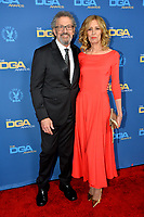 LOS ANGELES, CA. February 02, 2019: Christine Lahti & Thomas Schlamme at the 71st Annual Directors Guild of America Awards at the Ray Dolby Ballroom.<br /> Picture: Paul Smith/Featureflash