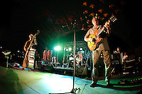 Hudson and the Hoodoo Cats performing at Labor of Love Festival at Riverfront Amphitheater in Alton, IL on Sept 6, 2009.