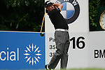 Miguel Angel Jimenez tees off on the 16th hole during the final round of the 2008 BMW PGA Championship at Wentworth Club, Surrey, England 25th May 2008 (Photo by Eoin Clarke/GOLFFILE)