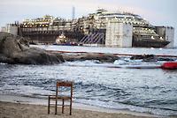 Costa Concordia, operazioni di rimozione