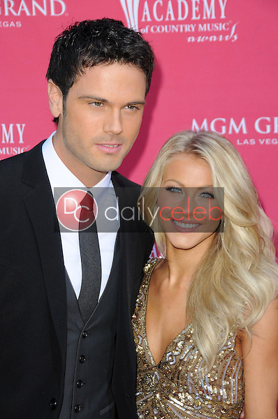 Chuck Wicks and Julianne Hough<br />