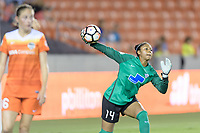 Houston, TX - Saturday July 22, 2017: Abby Smith during a regular season National Women's Soccer League (NWSL) match between the Houston Dash and the Boston Breakers at BBVA Compass Stadium.