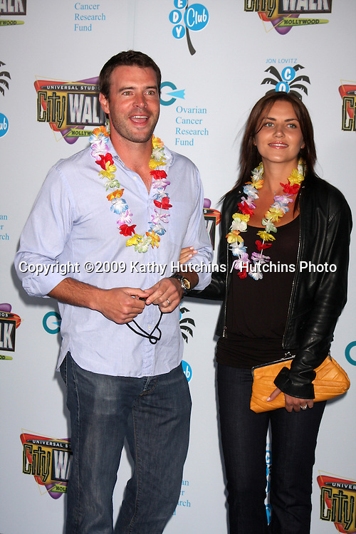 Scott Foley & Marika Dominczyk  arriving at the Grand Opening of The Jon Lovitz Comedy Club at Universal City Walk in Los Angeles, CA  on May 28, 2009 .©2009 Kathy Hutchins / Hutchins Photo..
