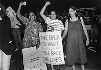 Take Back the Night Somerville MA May 15, 1990
