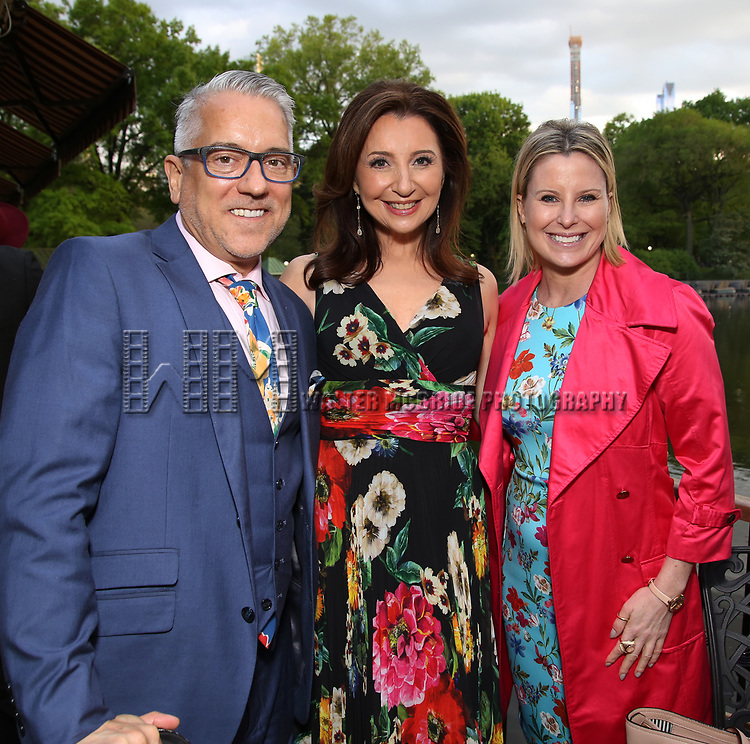 William Butler, Donna Murphy and Michelle Kittrell attends the Urban Stages' 35th Anniversary celebrating Women in the Arts at the Central Park Boat House on May 15, 2019 in New York City.