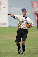 July 8 2009: Alex Feinberg of the Tri City Dust Devils before game against the Salem-Kaizer Volcanoes at Volcano  Stadium in Kaizer,OR.  Photo by Larry Goren/Four Seam Images