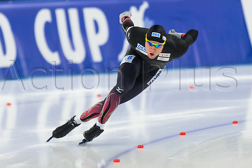January 29th 2017, Sportforum, Berlin, Germany; ISU Speed Skating World Cup;  ISU Speed Skating World Cup 1000m Division A; Nico Ihle (GER)