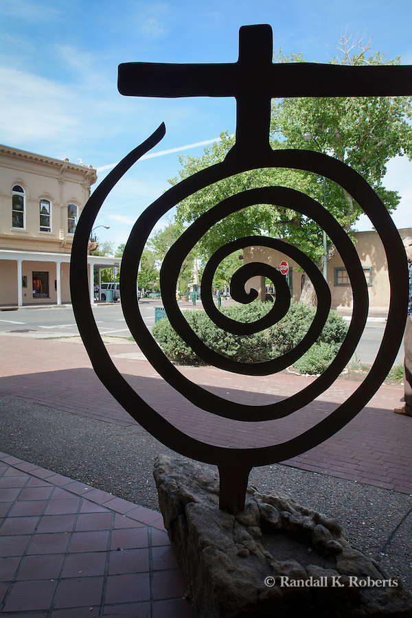 Art galleries abound in Santa Fe, New Mexico, which is recognized as a cultural hub of the Southwest U.S.